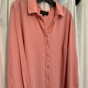 Lane Bryant long sleeve button up 18/20